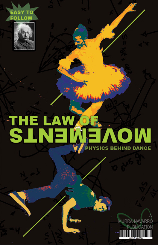 The Law of Movements Book Cover design