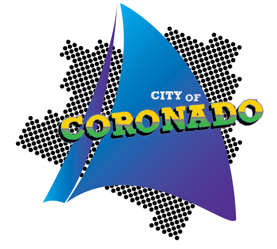 City of Coronado, California. Eighties Style
